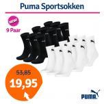 Dagaanbieding Puma Sportsokken 9 paar