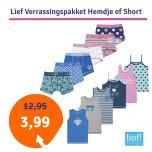 Lief Verrassingspakket Hemdje of Short