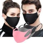 10x Gezichtsmaskers, mondkapjes herbruikbaar - diverse kleuren