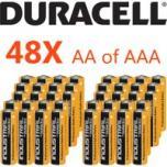 Megapack 48x Duracell industrial batterijen AA/AAA, voordeelverpakking
