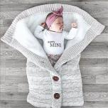Gebreide Slaapzak Voor Babies