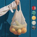 Milieu vriendelijke en duurzame trendy boodschappentas!
