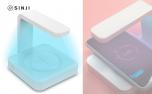 Sinji UV Sterilizer Charger Telefoon schoonmaken met UV licht sterilisator Desinfectie Draadloze oplader