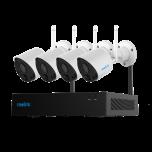 DAGACTIE Reolink RLK4-211WB4-S WiFi Draadloos Camerasysteem