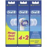 Oral B Opzetborstels EB 20 Precision Clean 6 stuks