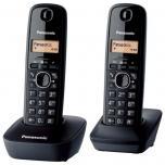 Panasonic dect telefoon KX-TG1612 zwart