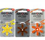 Rayovac Gehoorapparaat Batterijen (types 10, 13 of 312) | MEGA-pack (60 stuks)