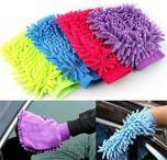 Microvezel multifunctionele Washandschoen in 4 kleuren!
