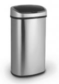 RVS Sensor Prullenbak met Infrarood - 58 Liter