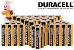 72-pack Duracell Industrial batterijen met korting