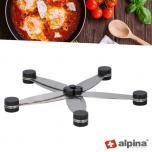 Alpina Multifunctionele Onderzetter - panhouder opvouwbaar